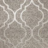 Massima Trellis Silver | Belgravia Wallpaper | GB350
