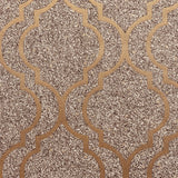 Massima Trellis Gold | Belgravia Wallpaper | GB351