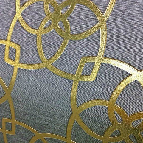Muriva Wallpaper | Precious Silk Marrakech Warm Gold/Grey | 601537