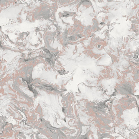 Muriva Wallpaper | Elixir Marble Rose Gold | 166502