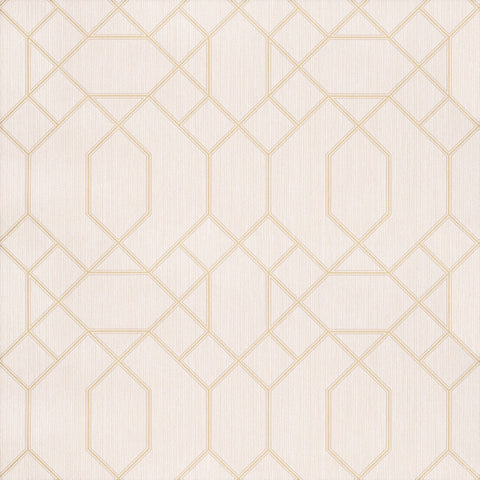 GranDeco Opus Wallpaper | Cantate Ivory/Gold | OS3202