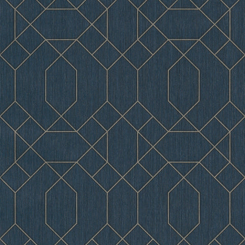 GranDeco Opus Wallpaper | Cantate Navy | OS3211