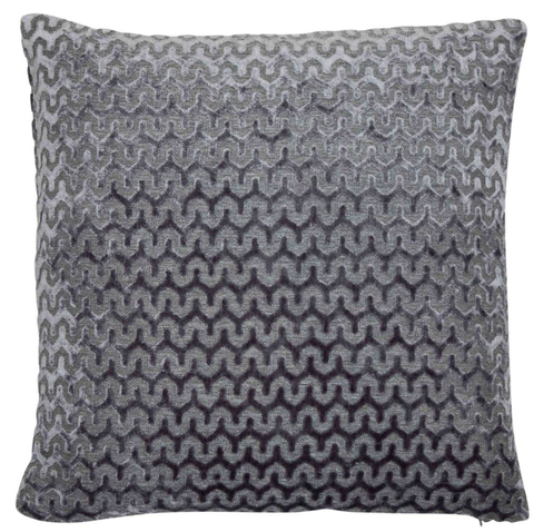 Oslo Slate Grey Cushion | Malini Designer Cushions | WonderWall