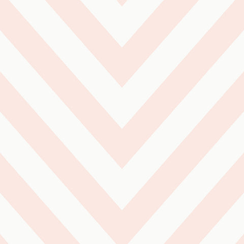 Holden Kids Wallpaper - Chevron Pink - 12572