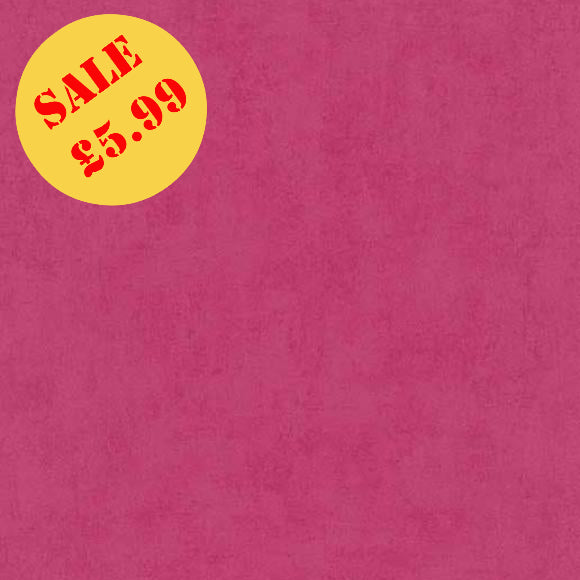 SALE Erismann Wallpaper | Prime Time Plain Pink | 6340-17