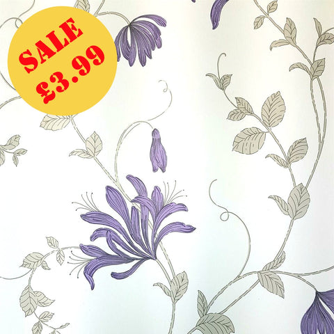 SALE CWV Wallpaper | Amelie Plum | M1303
