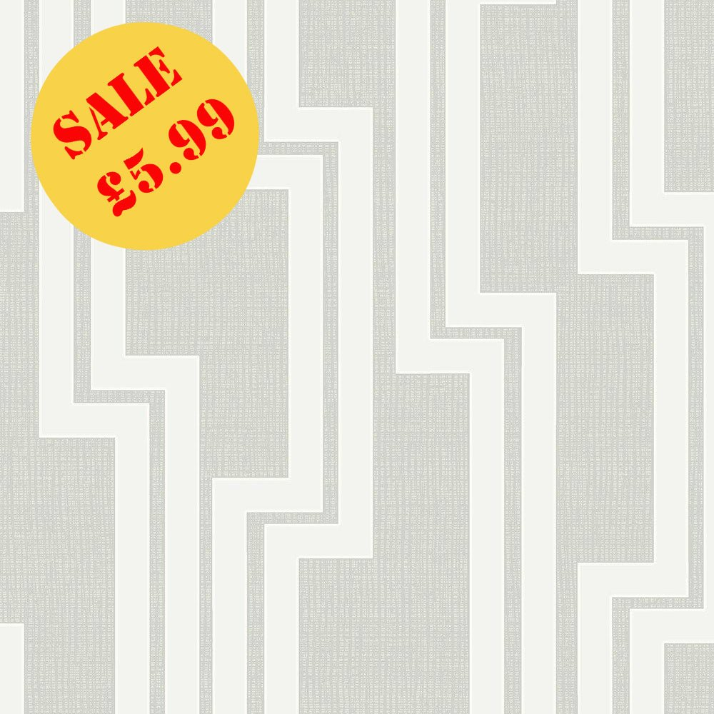 SALE Arthouse Wallpaper | Parallel Dove Grey | 901903