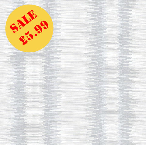 SALE Arthouse Wallpaper | Crushed Stripe Dove Grey | 901905