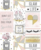 Arthouse Glitter Wallpaper | Glam Life Pink | 699402