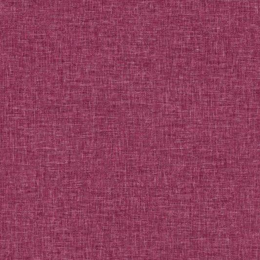 Arthouse Bloom Wallpaper | Linen Texture Raspberry | 676100