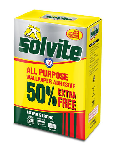Solvite All Purpose Paste - 3 x 185G