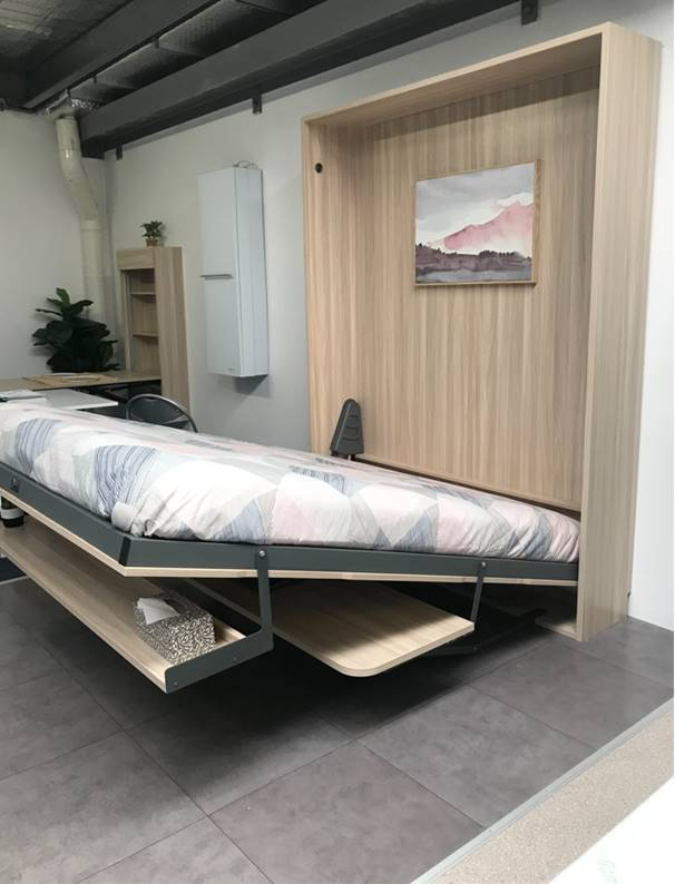Wall Beds are quick and easy to use