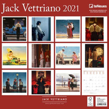 Load image into Gallery viewer, Jack Vettriano 2021 Wall Calendar