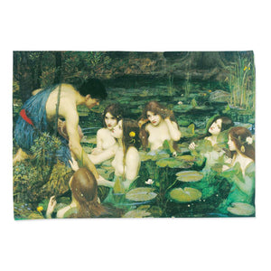 Tea Towel - Hylas and the Nymphs