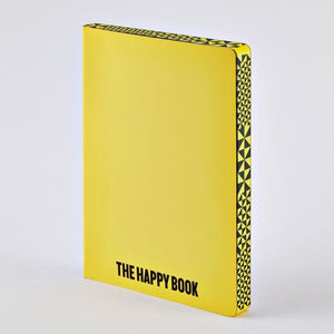 The Happy Book - Large Notebook