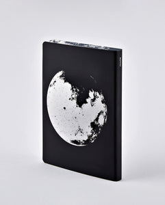 Moon Graphic - Large Notebook