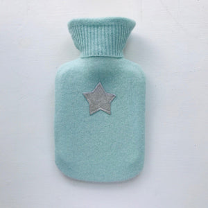 Pure Cashmere Mini Star Hot Water Bottle <br>by Chloë Haywood