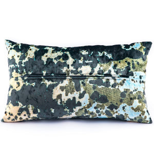 Lichen Speckle Cushions by Sally Gilford <br>Original Textile Design
