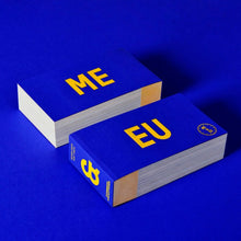 Load image into Gallery viewer, Me & EU Limited Edition Postcard Book