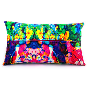 Psychedelia Cartilage Cushions by Sally Gilford <br>Original Textile Design