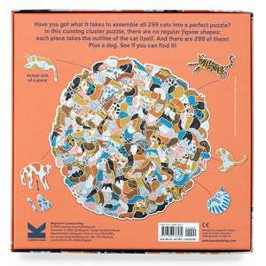299 Cats and a Dog Jigsaw Puzzle