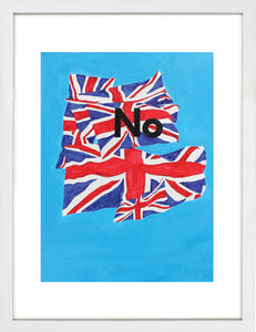 No by Amrit Randhawa <br>Limited Edition Print