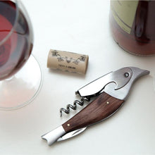 Load image into Gallery viewer, Rosewood Bird Corkscrew