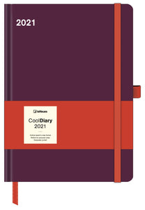 Bordeaux / Coral Cool Diary Large