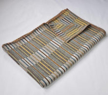 Load image into Gallery viewer, Reeds Pattern Throw <br>by Chalk Wovens