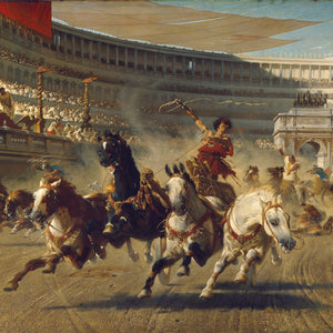 Greetings Card - The Chariot Race