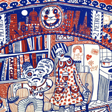 Load image into Gallery viewer, Grayson's Art Club Tea Towel by Grayson Perry