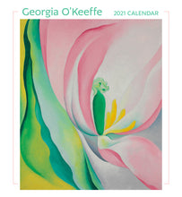 Load image into Gallery viewer, Georgia O'Keefe 2021 Wall Calendar