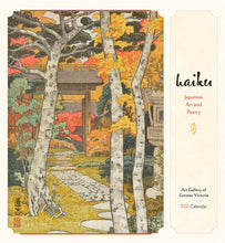 Load image into Gallery viewer, Haiku: Japanese Art and Poetry 2021 Wall Calendar