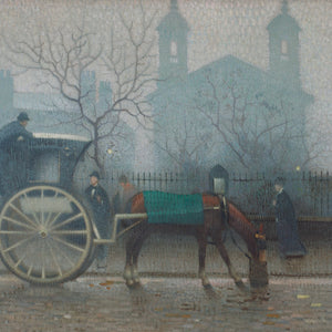 Greetings Card - Hansom Cab