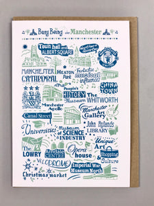 Greeting Card - Busy Being in Manchester