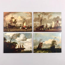 Load image into Gallery viewer, Dutch Painters Notecard Set: Seascapes