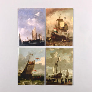 Dutch Painters Notecard Set: Seascapes
