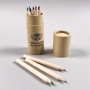 Coloured Pencils in a Tube