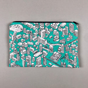 Zipped Pouch Bag - Our Manchester