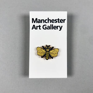 Enamel Bee Pin Badge