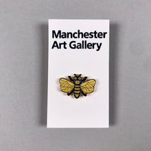 Load image into Gallery viewer, Enamel Bee Pin Badge