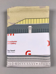 Tea Towel - Gallery at Sunset by Linescapes