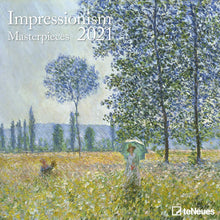 Load image into Gallery viewer, Impressionism 2021 Wall Calendar