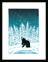 Load image into Gallery viewer, Stargazey Bear by Jo Wright <br>Limited Edition Print