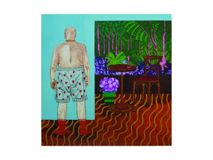 My Next-door Neighbour Keeps Showing Me His Knickers by Katie Tomlinson <br>Limited Edition Print