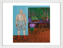 Load image into Gallery viewer, My Next-door Neighbour Keeps Showing Me His Knickers by Katie Tomlinson <br>Limited Edition Print