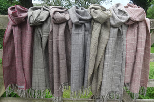 Garsdale Scarf, 100% Bluefaced Leicester Wool <br>by Laura's Loom