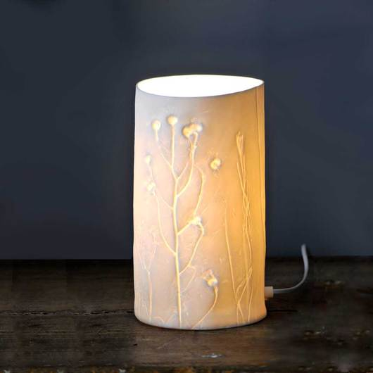 Summer Grasses Lamp <br>by Liz Emtage Ceramics