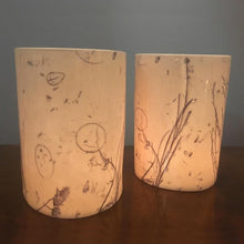 Load image into Gallery viewer, Underwater Grasses Tealight Vase <br>by Liz Emtage Ceramics