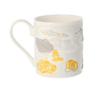 Prospect Cottage, Dungeness Mug in Yellow <br>by minimoderns